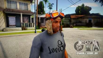 Fortnite Aviator Hat For CJ para GTA San Andreas