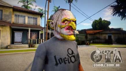 GTA V Halloween mask V2 para GTA San Andreas