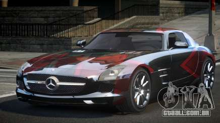 Mercedes-Benz SLS G-Style L8 para GTA 4