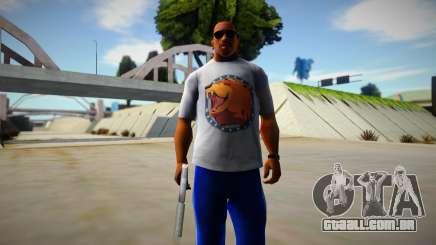 Far Cry 5 Cheeseburger Shirt para GTA San Andreas