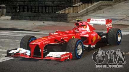Ferrari F138 R1 para GTA 4