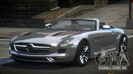 Mercedes-Benz SLS PSI-R para GTA 4