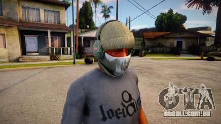 Phantom Mask For CJ para GTA San Andreas
