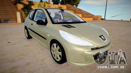 Peugeot 207 Compact 3 para GTA San Andreas