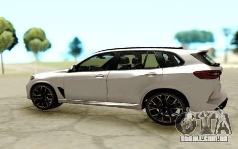 BMW X5M F95 para GTA San Andreas