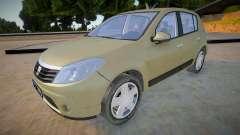 Dacia Sandero 2008 James May para GTA San Andreas