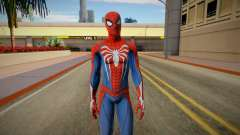 Spider-Man Advanced Suit from Spiderman PS4 para GTA San Andreas