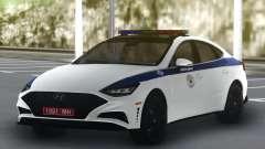 Hyundai Sonata Turbo Police para GTA San Andreas