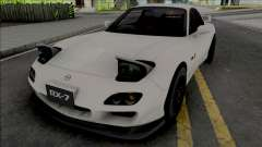 Mazda RX-7 Spirit R FD White