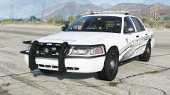 Ford Crown Victoria P71 Police Interceptor 2011〡Sheriff K-9 Unit [ELS]〡red & blue emergency lights para GTA 5