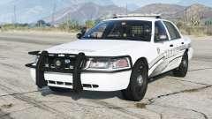 Ford Crown Victoria P71 Police Interceptor 2011〡Sheriff K-9 Unit [ELS]〡red & blue emergency lights para GTA 5