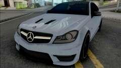 Mercedes-Benz C63 AMG Edition 2014 (SA Lights) para GTA San Andreas