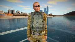 Punisher USA army para GTA San Andreas