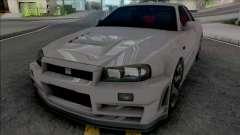 Nissan Skyline GT-R R34 Nismo Z-Tune 2005 para GTA San Andreas