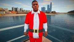 Franklin em um terno de Natal para GTA San Andreas