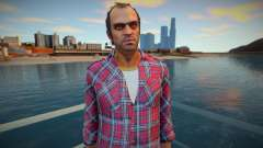 Trevor plaid shirt para GTA San Andreas