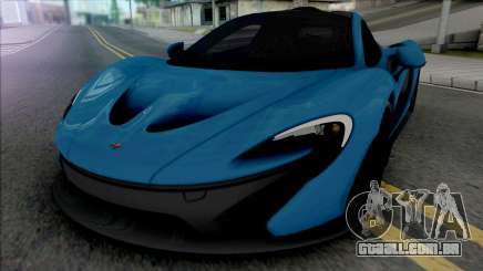 McLaren P1 2014 [Fixed] para GTA San Andreas