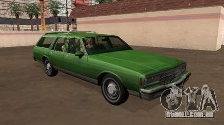 Chevrolet Impala 1984 Station Wagon para GTA San Andreas