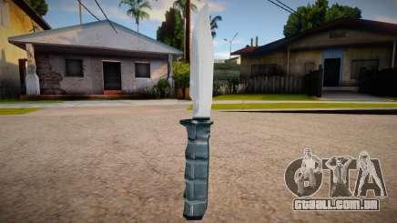 New knife (good textures) para GTA San Andreas