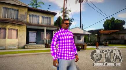 Ballas shirt para GTA San Andreas