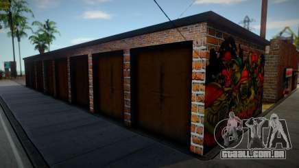 New garage (good textures) para GTA San Andreas
