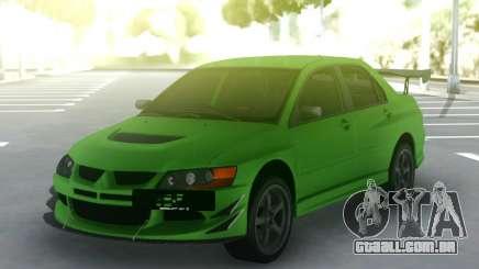 Mitsubishi Lancer Evo IX 06 para GTA San Andreas