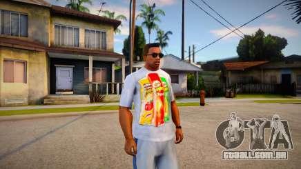 T-shirt Pringles para GTA San Andreas
