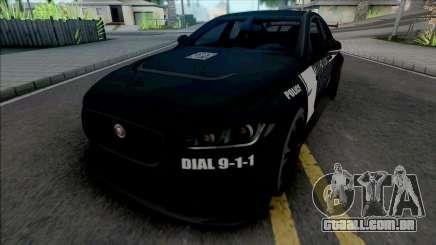 Jaguar XE SV Project 8 2017 Police para GTA San Andreas