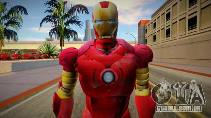 Iron Man Skin HQ para GTA San Andreas