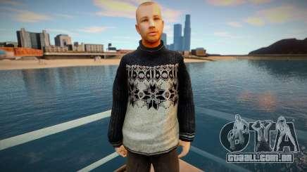 Homem russo de suéter para GTA San Andreas