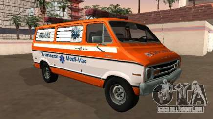 Dodge Tradesman B-200 1976 Ambulance para GTA San Andreas