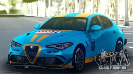 Alfa Romeo Giulia QV para GTA San Andreas