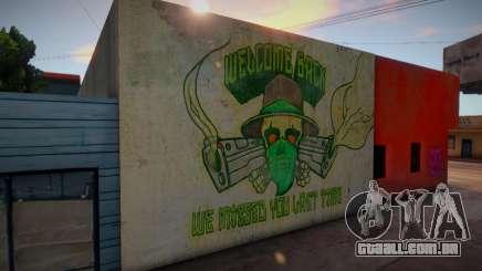 GTA V HQ Wall para GTA San Andreas