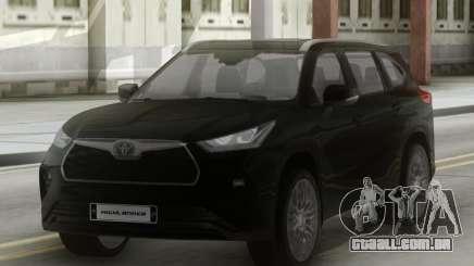Toyota Highlander Platinum 2020 para GTA San Andreas