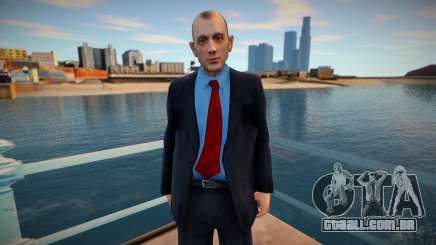 Funcionário do banco para GTA San Andreas