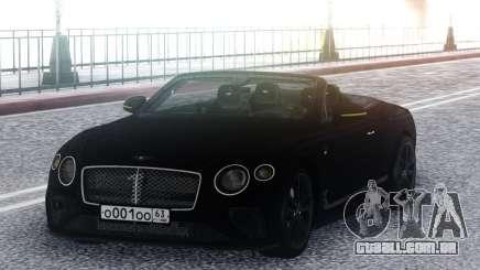 Bentley Continental GT Number 1 Edition 19 para GTA San Andreas