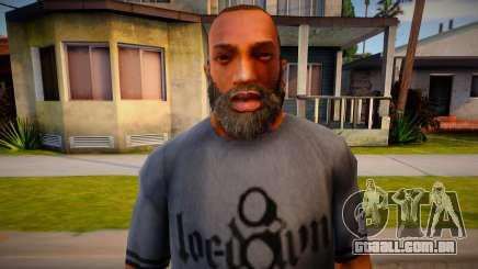 Beards for CJ para GTA San Andreas