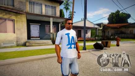 T-shirt LA para GTA San Andreas