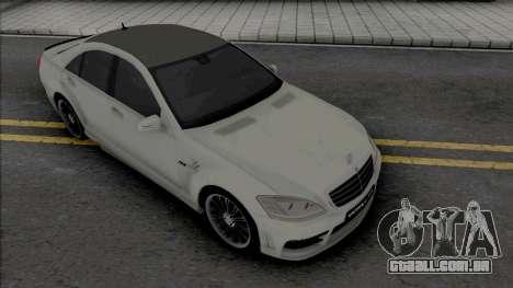 Mercedes-Benz S-Class W221 WALD Black Bison para GTA San Andreas