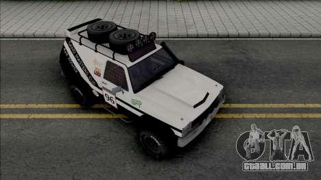 GTA IV Declasse Rancher Sandking Style para GTA San Andreas