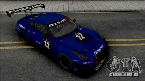 Nissan GT-R GT3 para GTA San Andreas