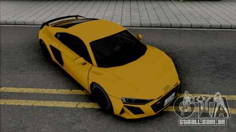 Audi R8 V10 2019 (SA Style) para GTA San Andreas