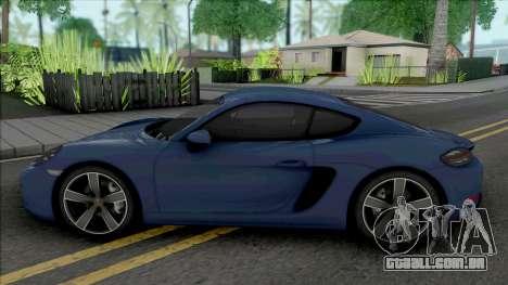 Porsche 718 Cayman S para GTA San Andreas