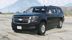 Chevrolet Suburban LTZ 2015〡Secret Service〡add-on v1.1 para GTA 5