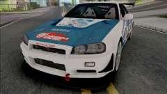 Nissan Skyline GT-R R34 Itasha [Fixed]