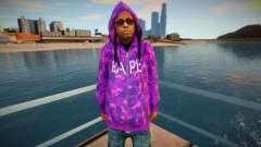 Lil Wayne v2 para GTA San Andreas