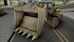 C&C Generals Construction Dozer para GTA San Andreas