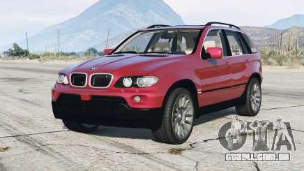 BMW X5 4.8is (E53) 2005 v1.1 para GTA 5