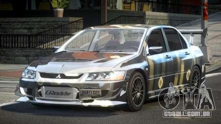 Mitsubishi Lancer Evolution VIII GST-R S5 para GTA 4