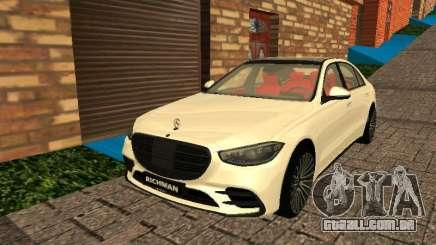 Mercedes-Benz S500 4matic (W223) 2022 para GTA San Andreas